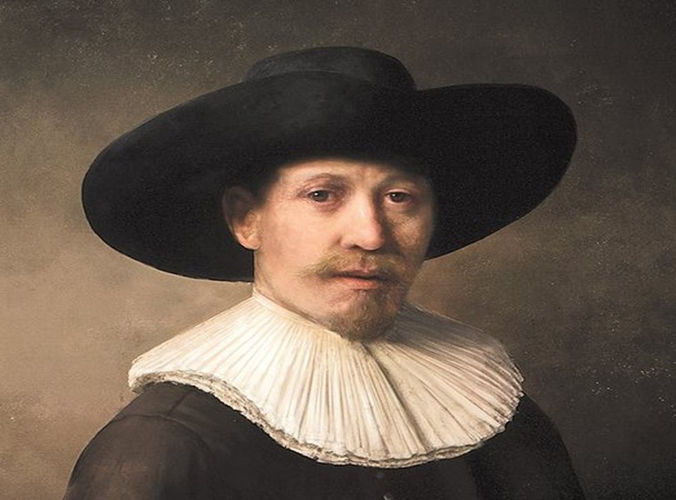 This 'Rembrandt' painting was created by a team of experts nearly 350 years after the famous artist's death.