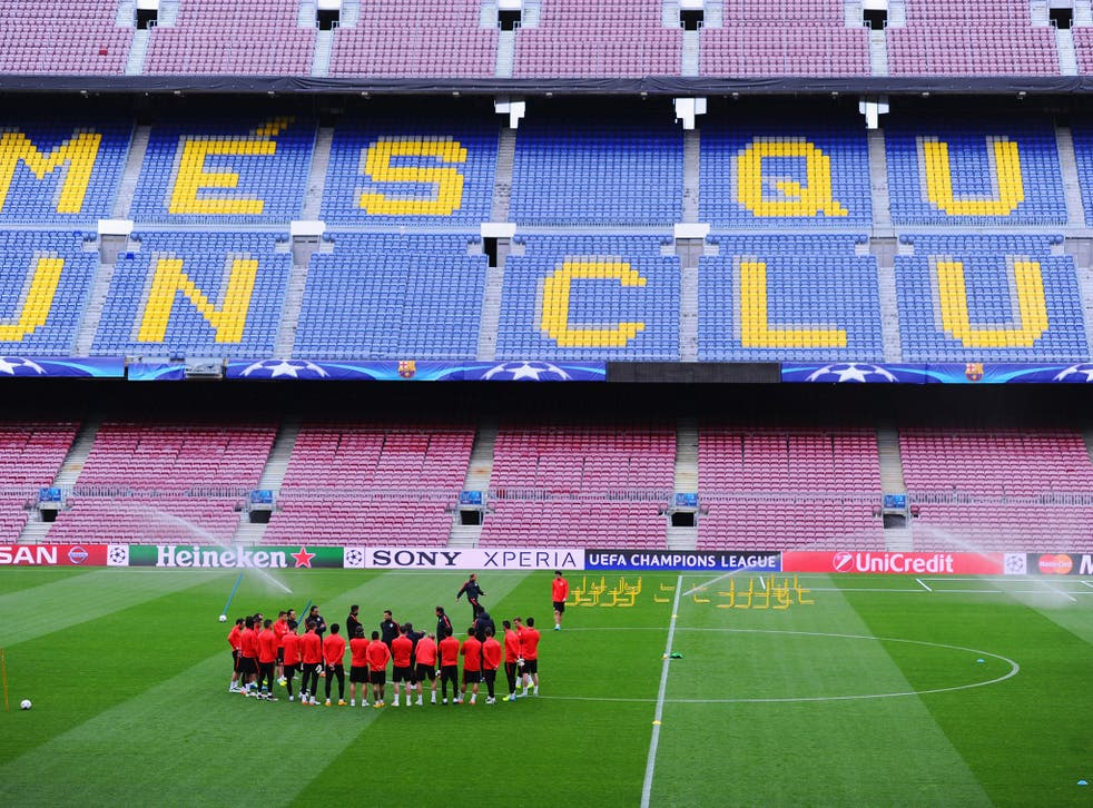 Barcelona will take their complaint to the league and the Spanish FA