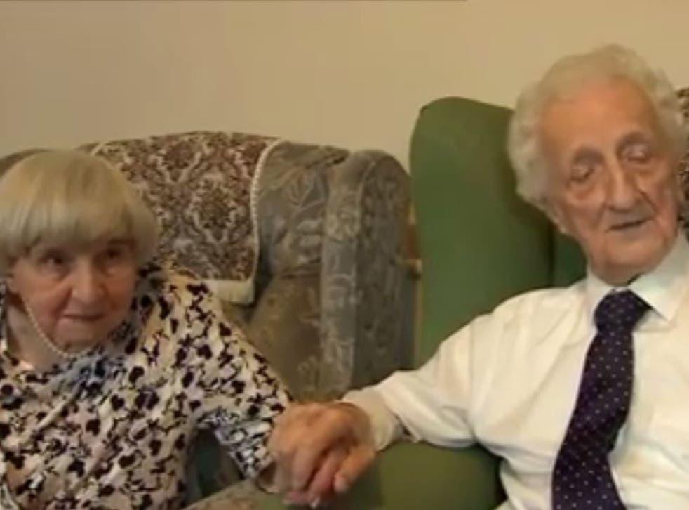 Nora Jackson and Roy Vickerman reunited after 70 years apart