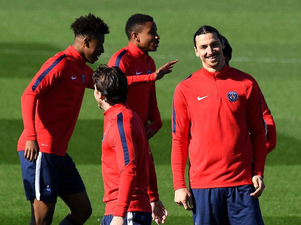 PSG vs Manchester City: Zlatan Ibrahimovic is in scarily ...