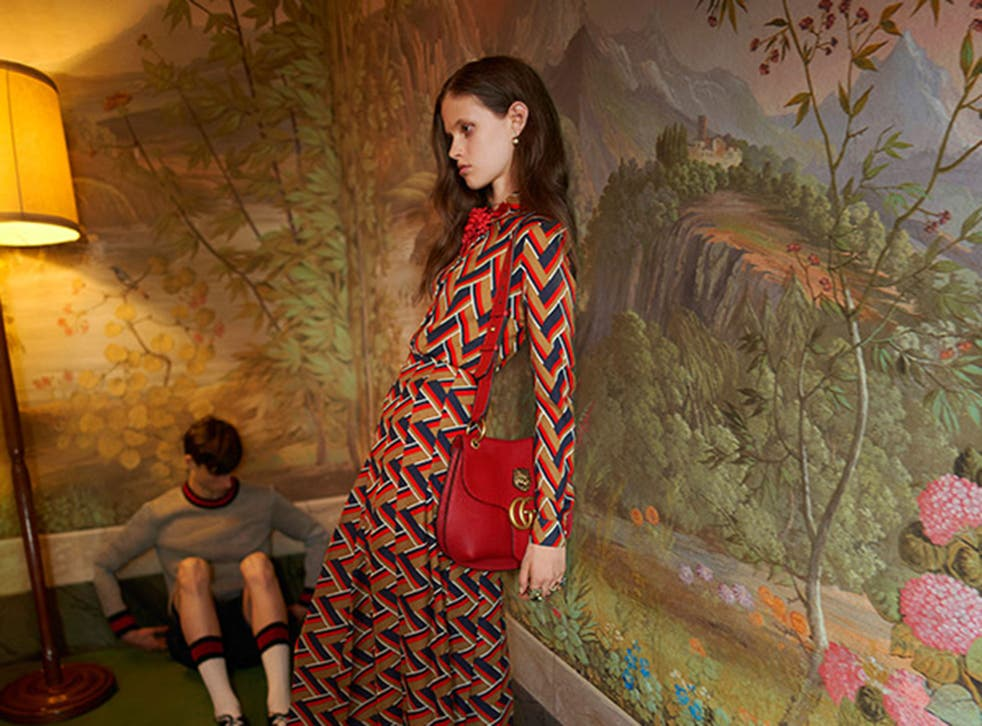 """The Gucci ad has been banned by the ASA for featuring an image of an """"unhealthily thin"""" model"""