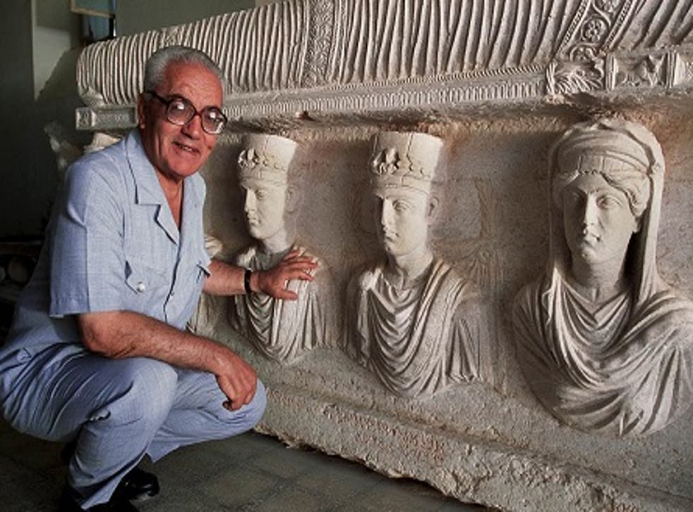 Khaled al-Asaad devoted four decades of his life to preserving Palmyra's ruins