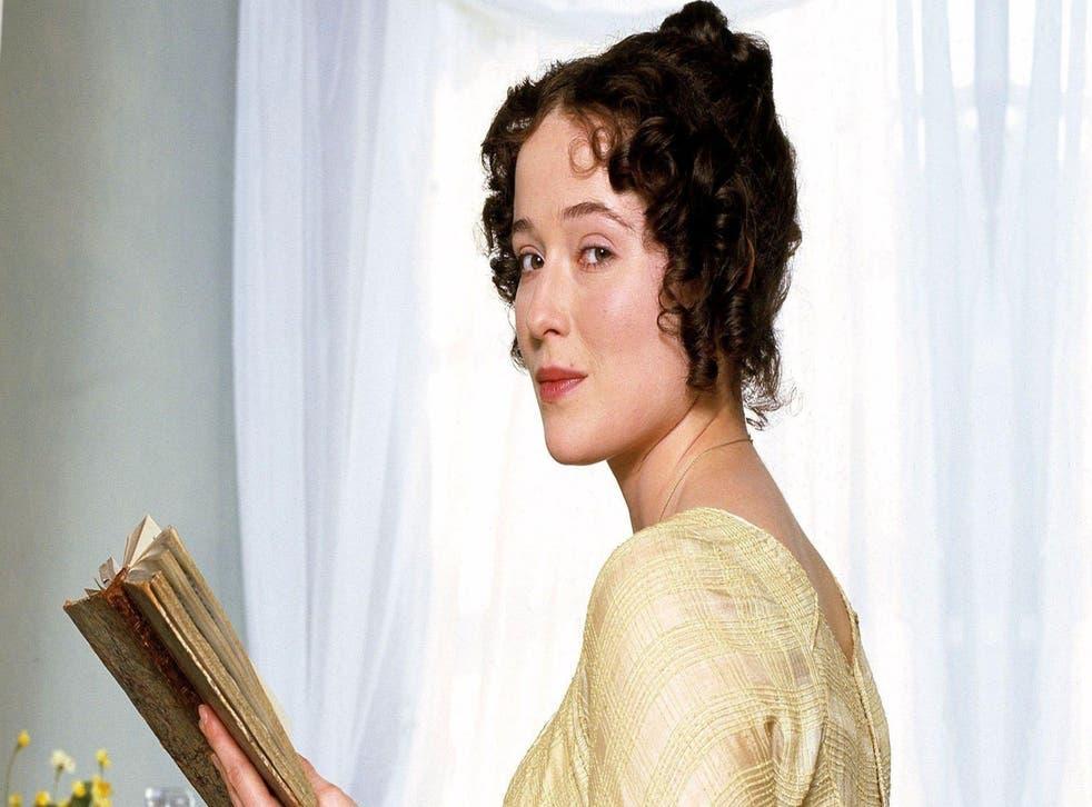 Jennifer Ehle as Elizabeth Bennet in the BBC adaptation of Pride and Prejudice