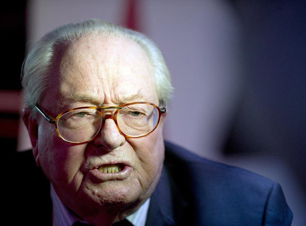 jean Marie Le Pen has been convicted of inciting religious hatred on previous occasions