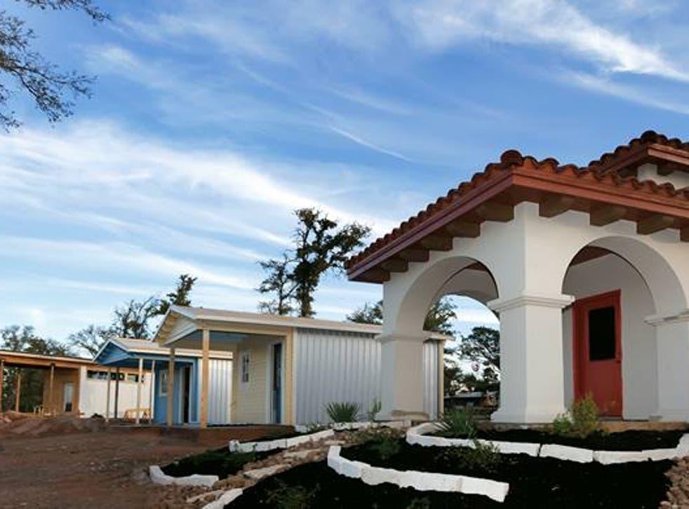 Tiny homes at Austin's Community First Village <em>Facebook</em>