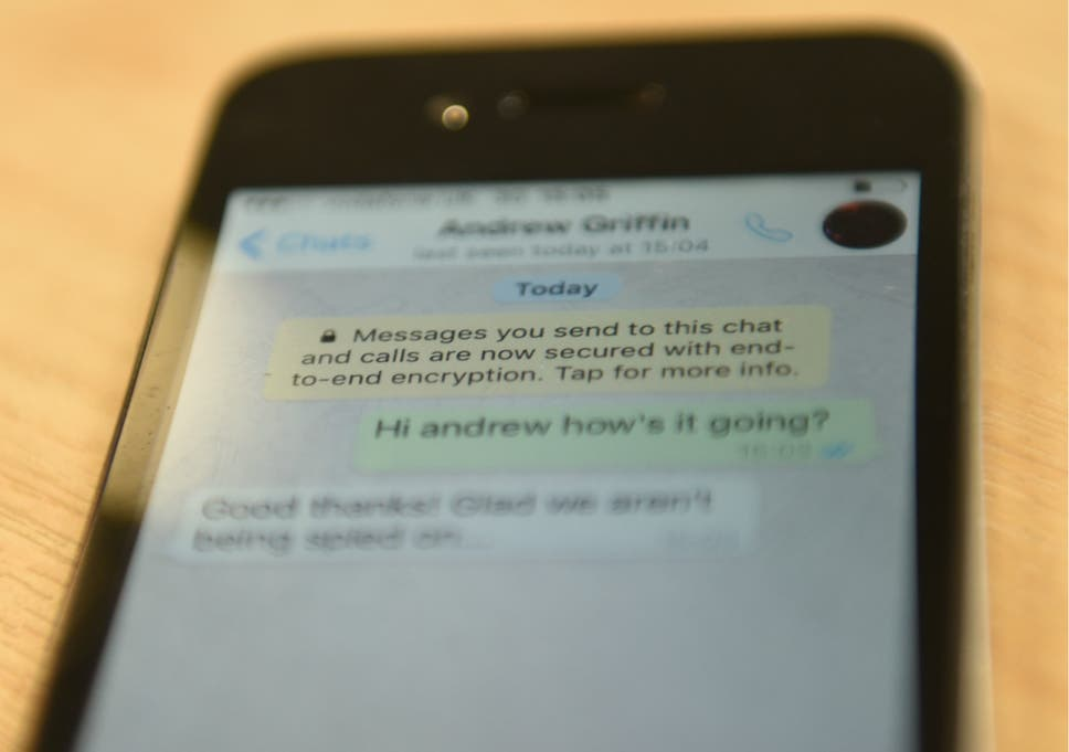 WhatsApp messages can be intercepted by governments or hackers – but
