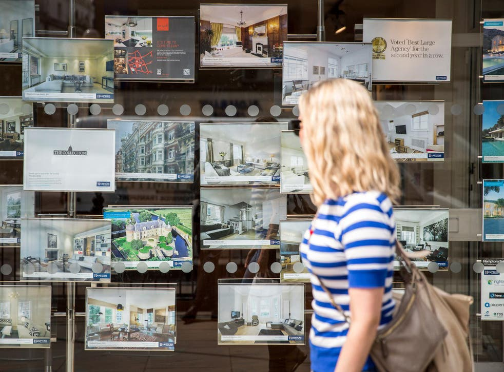 Sale prices in London fell for a third consecutive month in June
