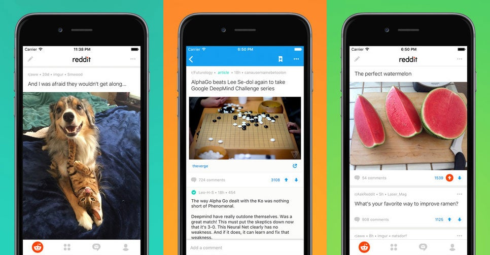 Reddit's official mobile app has finally arrived - and it comes with three months of premium membership
