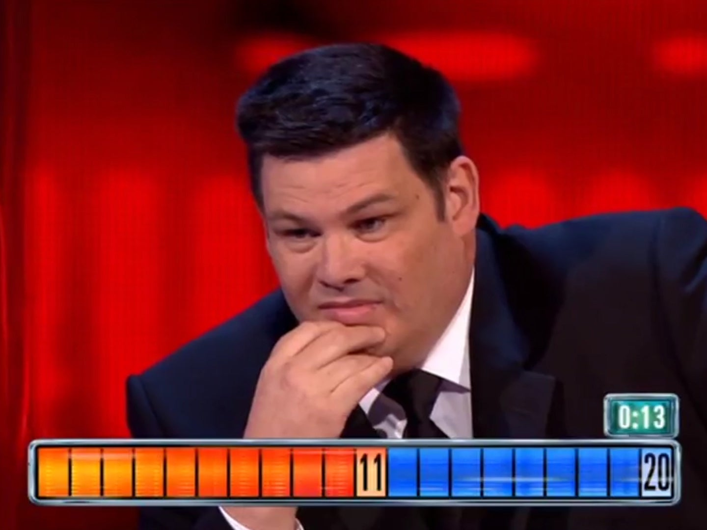 The chase accused of 39 favouring the chaser 39 after clock appeared to pause during final 27 000 Australia home and garden tv show