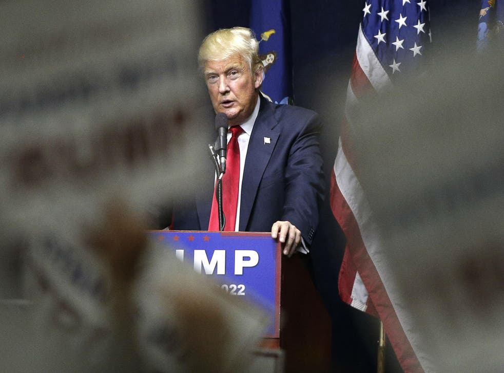 Mr Trump has made major changes to his closest team as he battles for New York