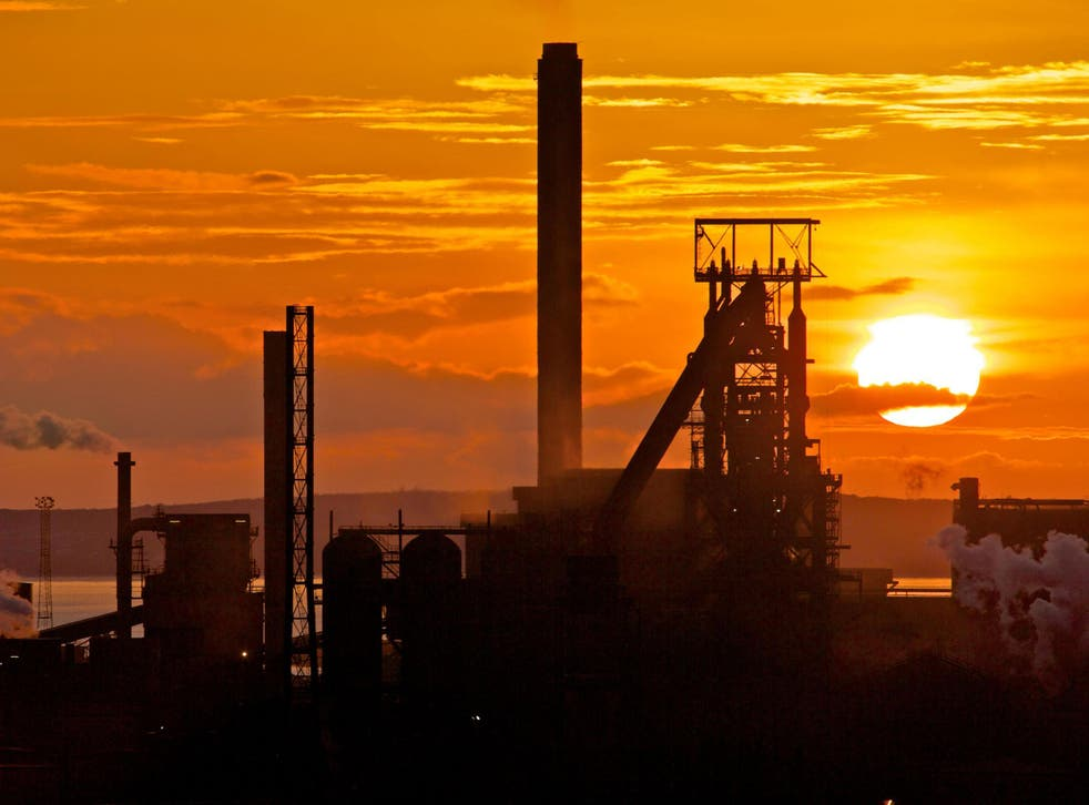 Workers at the Port Talbot Tata steel works have had to accept taking a hit to their pensions