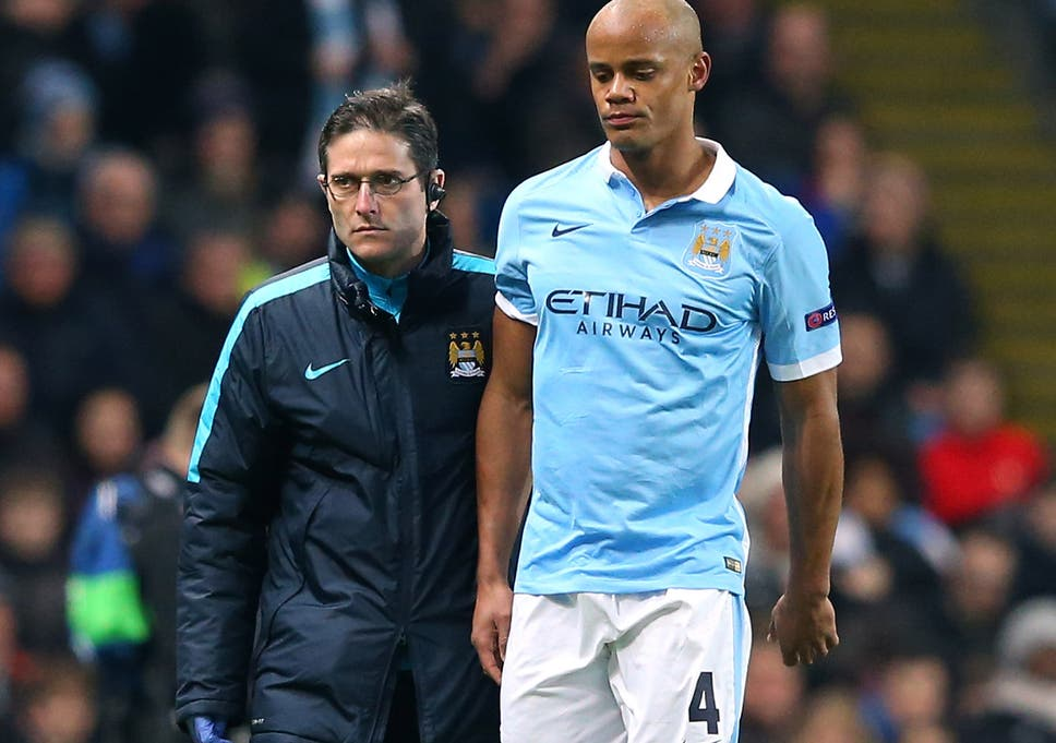 1278021ac Vincent Kompany could return for Manchester City s Champions League  quarter-final tie with PSG