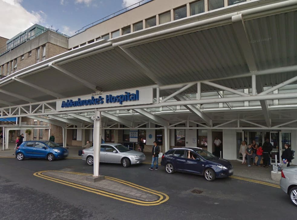 <p>Addenbrooke's Hospital, part of Cambridge University Hospitals</p>