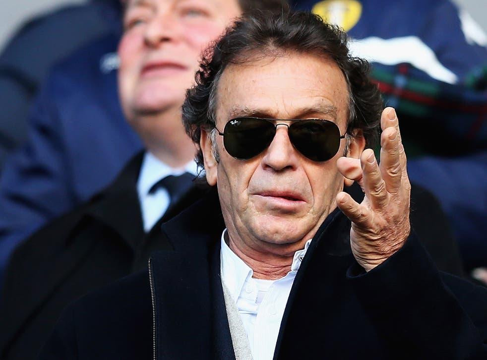 Leeds owner Massimo Cellino