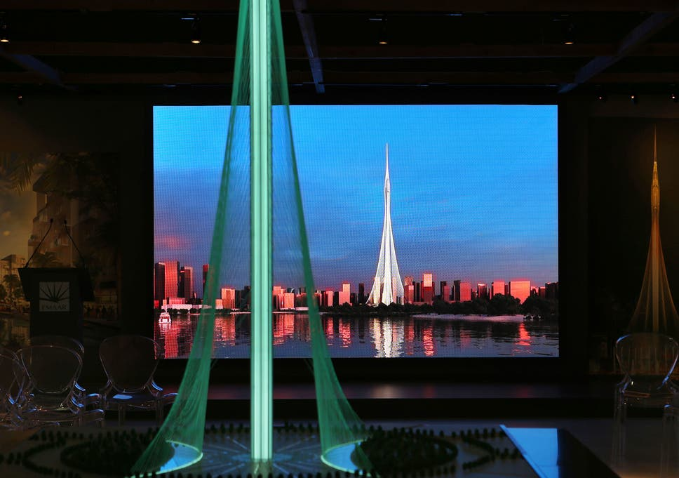 New Dubai tower set to be 'a notch' above world's tallest
