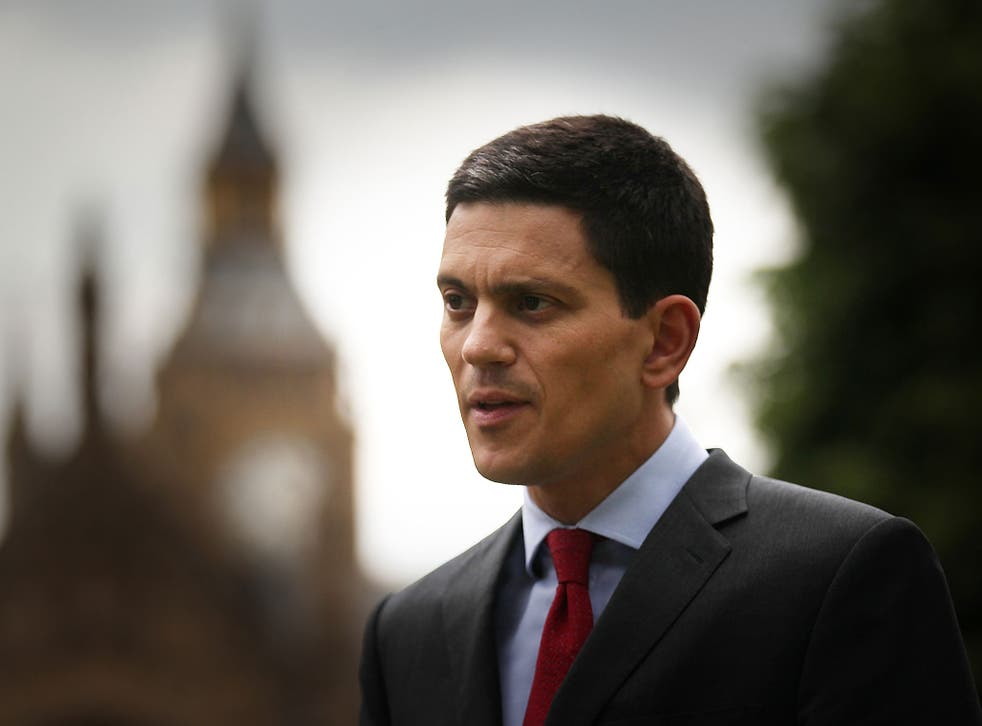 David Miliband resigned as an MP in 2013