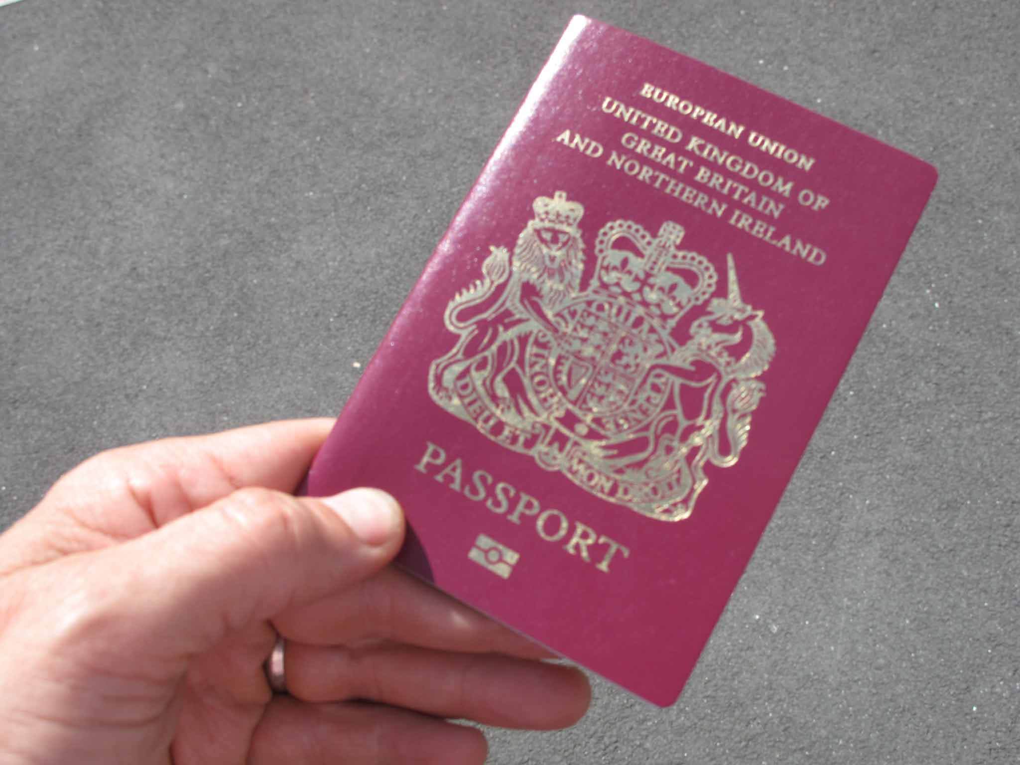 Travel Question of the Day Simon Calder on renewing a passport