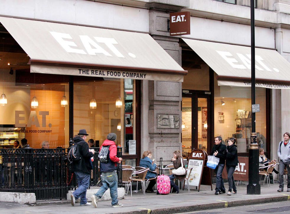 An Eat spokesperson said that 95 per cent of our employees enjoy a pay rate higher than the £7.20 living wage