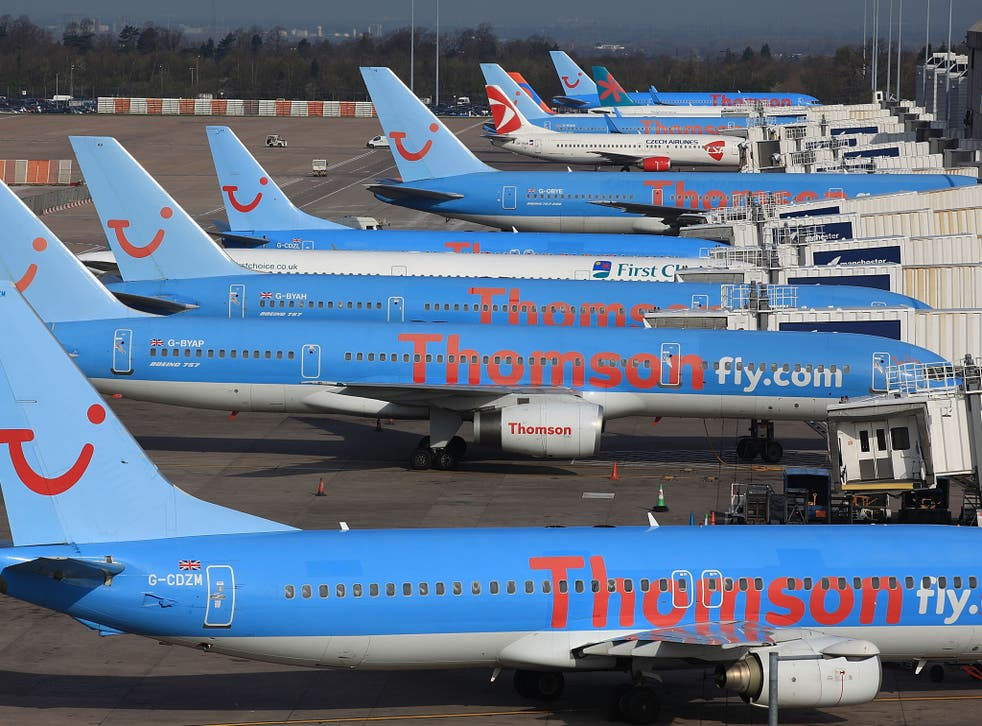 The woman who died on the Thomson flight from Majorca to Glasgow was reported to be in her 60s