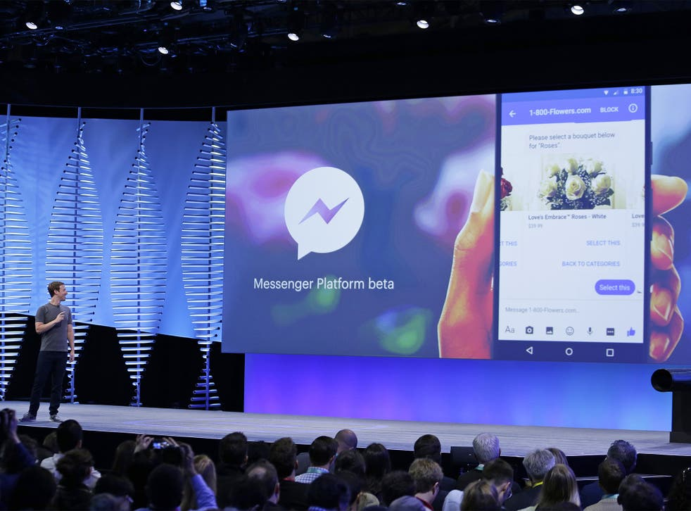 """Mark Zuckerberg said """"chatbots"""" will enable businesses talk to customers in conversational language without requiring person-to-person communication"""