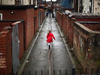 30% OF UK CHILDREN LIVE IN POVERTY AND RISKI  THE CHANCELLOR IS TO BLAME