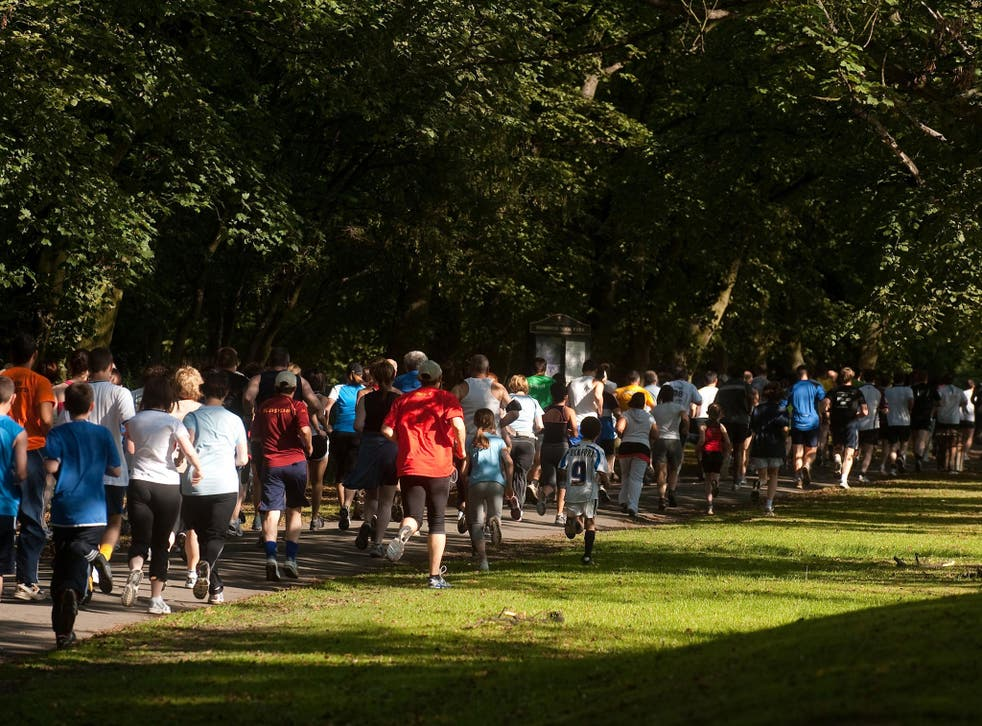 The Little Stoke park run attracts up to 300 people every week