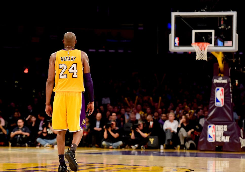 2dddc37dda5c Kobe Bryant last game  LA Lakers great scores 60 points to beat Utah Jazz  in victorious final farewell