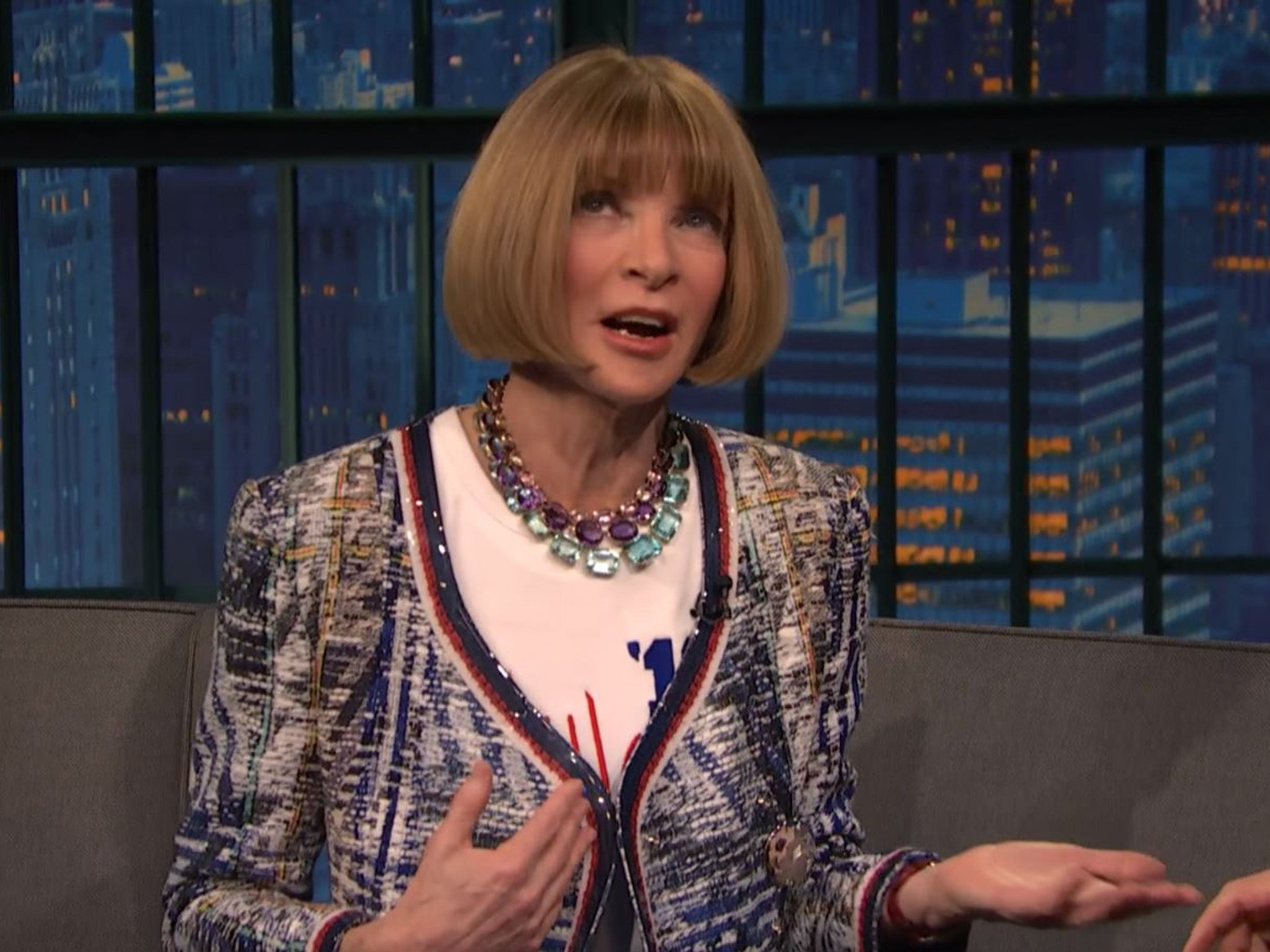 Anna Wintour 'meets With Donald Trump' After Slating The