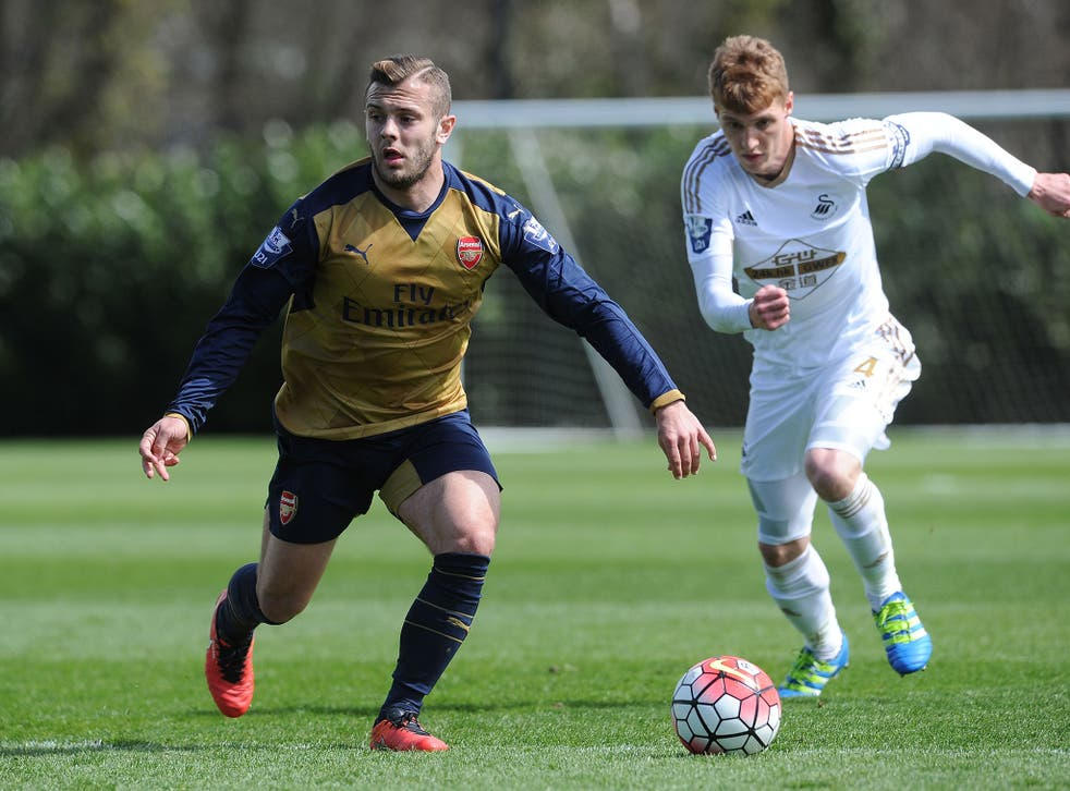 Jack Wilshere stepped up his recovery from a broken leg by playing 90 minutes for Arsenal Under-21s