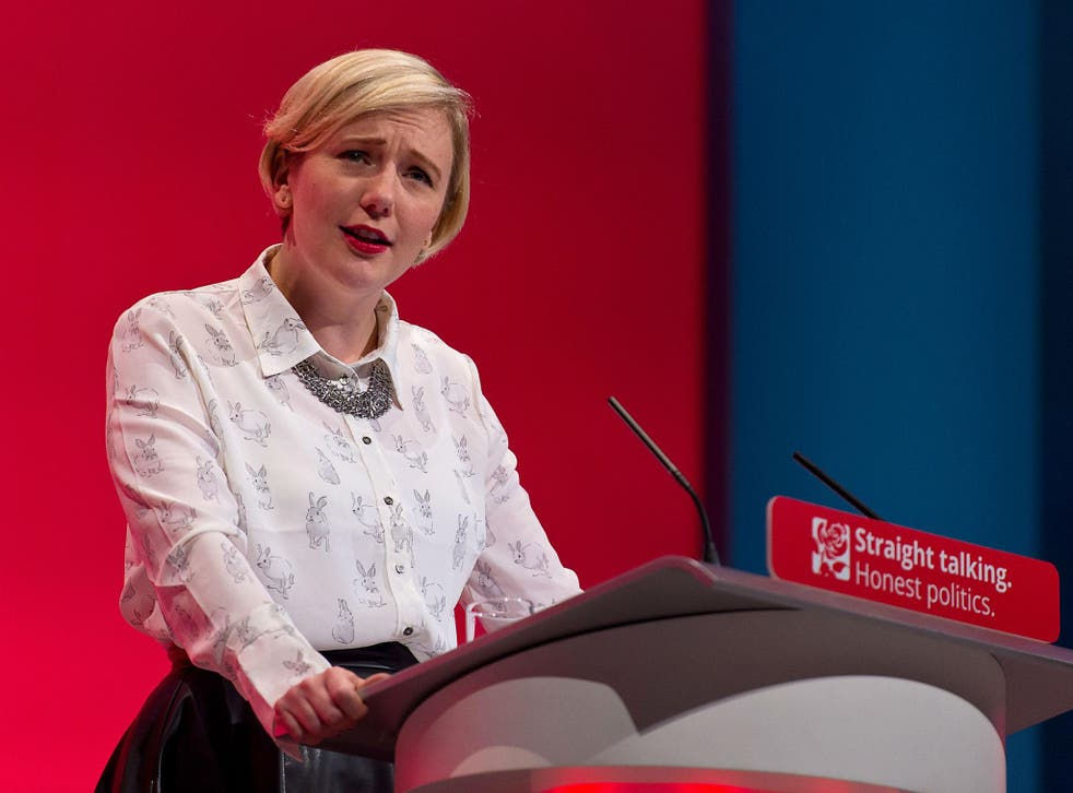 Stella Creasy MP at the 2015 Labour party conference