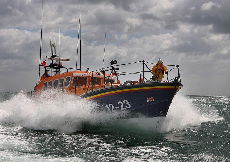 Three Iranian men rescued from small boat in English Channel