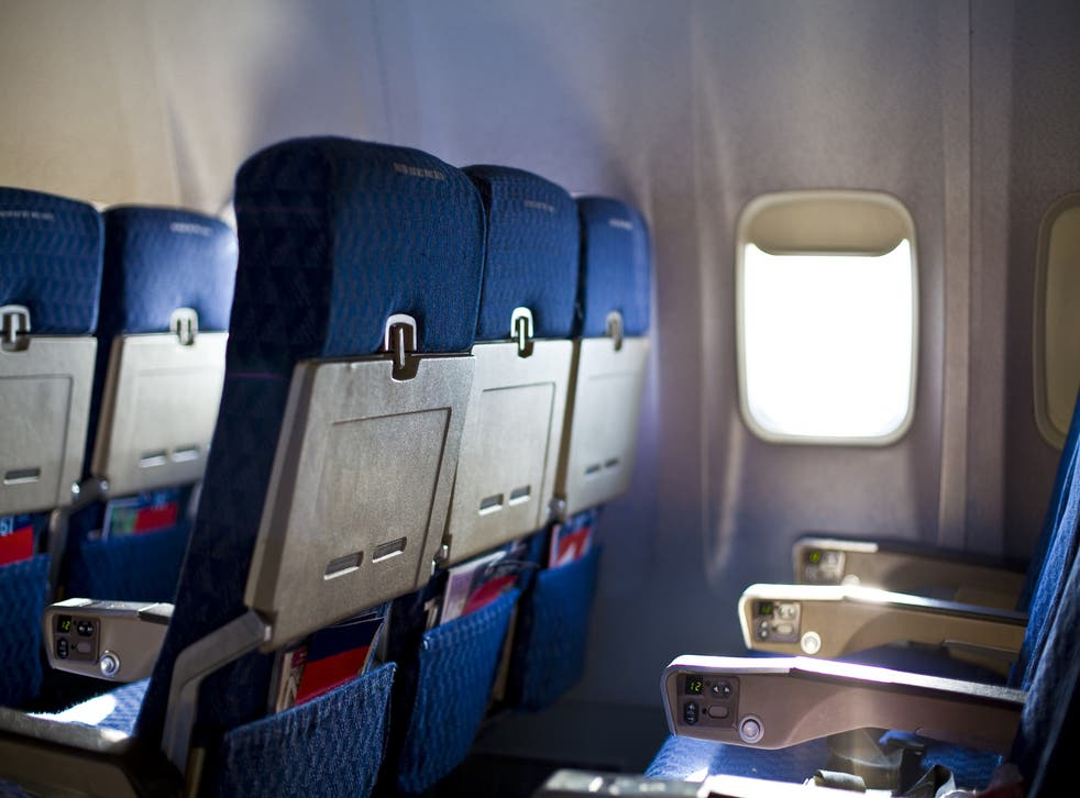 Average airplane legroom has been reduced each decade since the mid-1970s