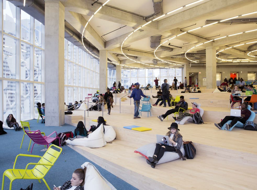 Studies have proven that a building's design can impact a person's health