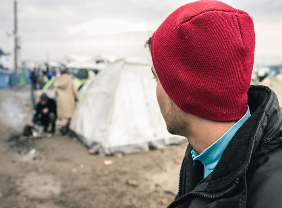 Salim*, 17, made the journey to Europe alone and has been sleeping outside in Lesbos due to the lack of safe shelter units for lone children Gabriele Casini, Save the Children