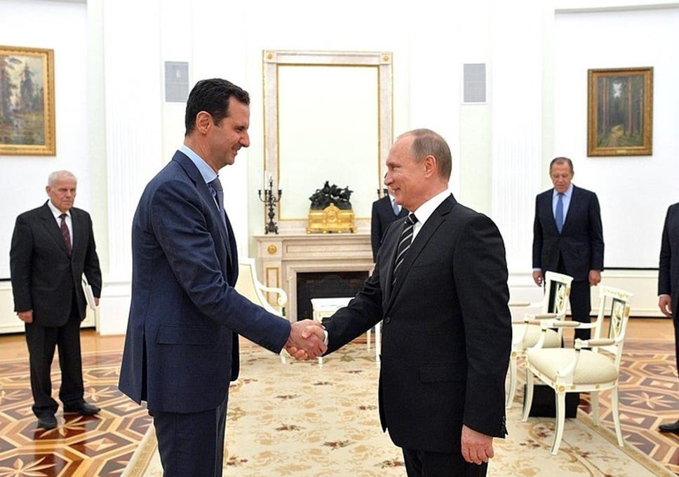 Image result for putin assad