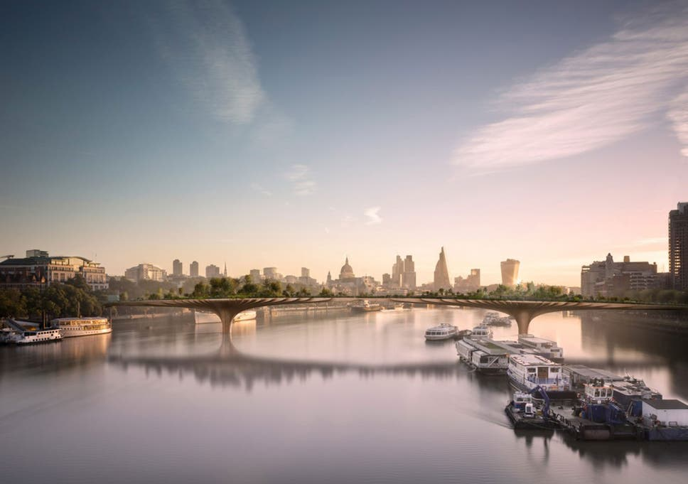 Plans To Construct The Bridge, Spanning The Thames Between The Embankment  And Temple, Were
