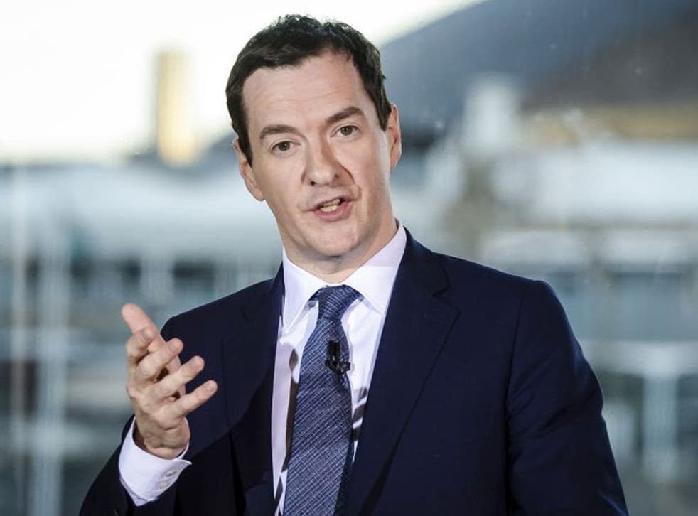 Osborne means in the event of a Brexit, the UK economy would miss out on growth worth an average of £4,300 to each of Britain's 27 million households
