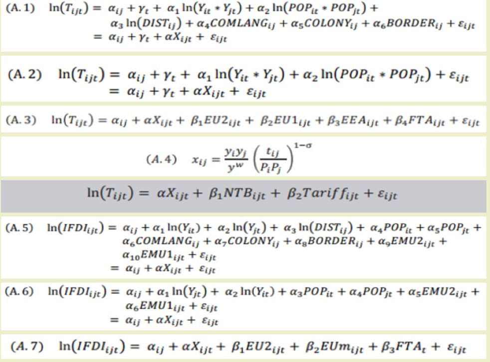 """The Treasury's """"Brexit"""" equations"""