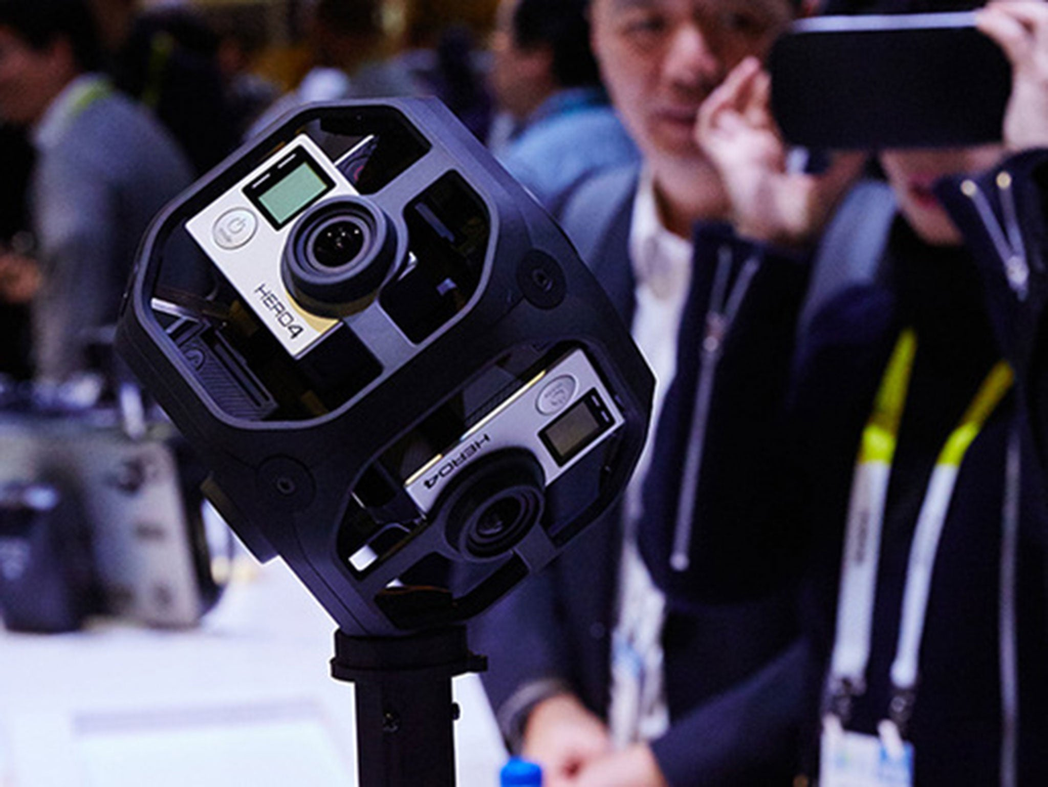 GoPro unveils new VR video platform and pricing for 360-degree Omni camera rig