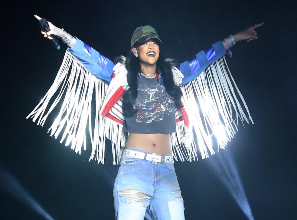 Rihanna looks like a goddamn angel.
