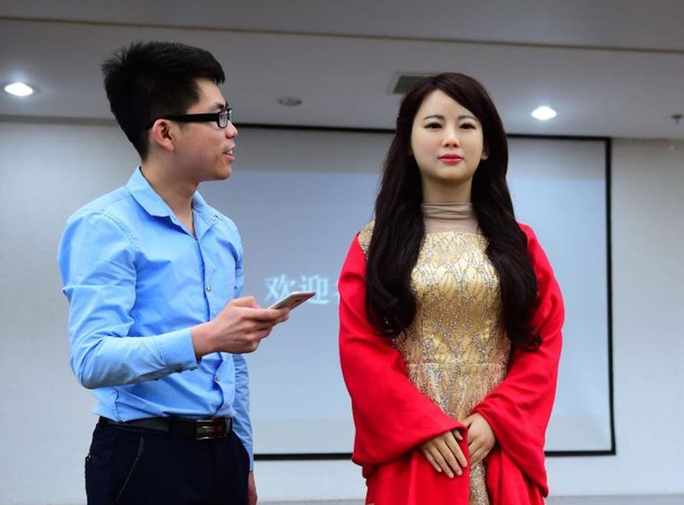 A Chinese inventor unveiled 'robot girlfriend' Jia Jia this week – presumably a safer option than a real foreign one in the eyes of Beijing
