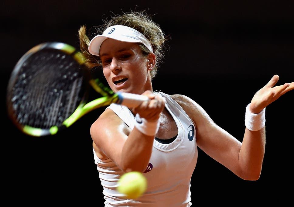Porsche Tennis Grand Prix Johanna Konta Keen To Put Defeat