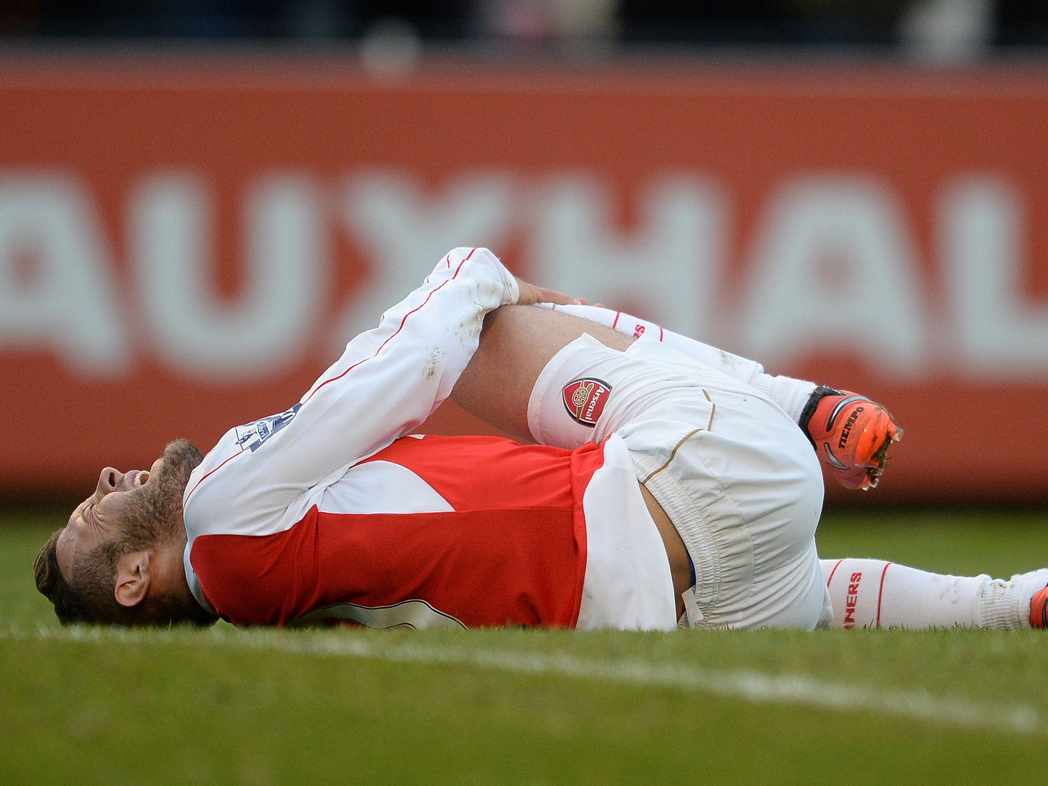 Jack Wilshere: Arsenal midfielder recovers from first-half