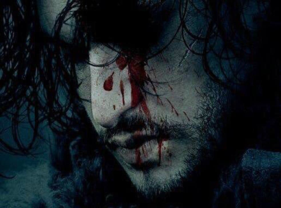 Jon Snow featured on a teaser poster announcing the Game of Thrones season six premiere date