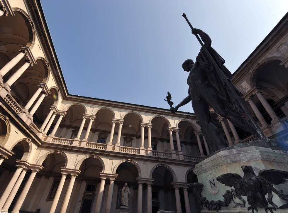 The paintings have been housed in Milan's Pinacoteca di Brera art museum since July