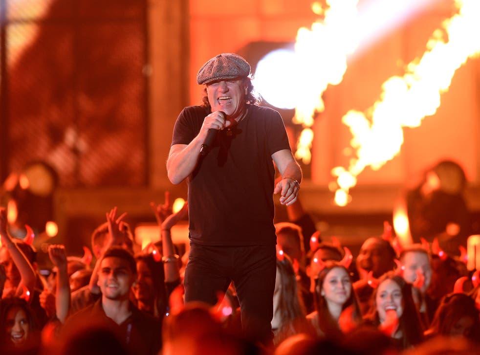 Brian Johnson joined AC/DC in 1980 <em>Kevork Djansezian/Getty</em>