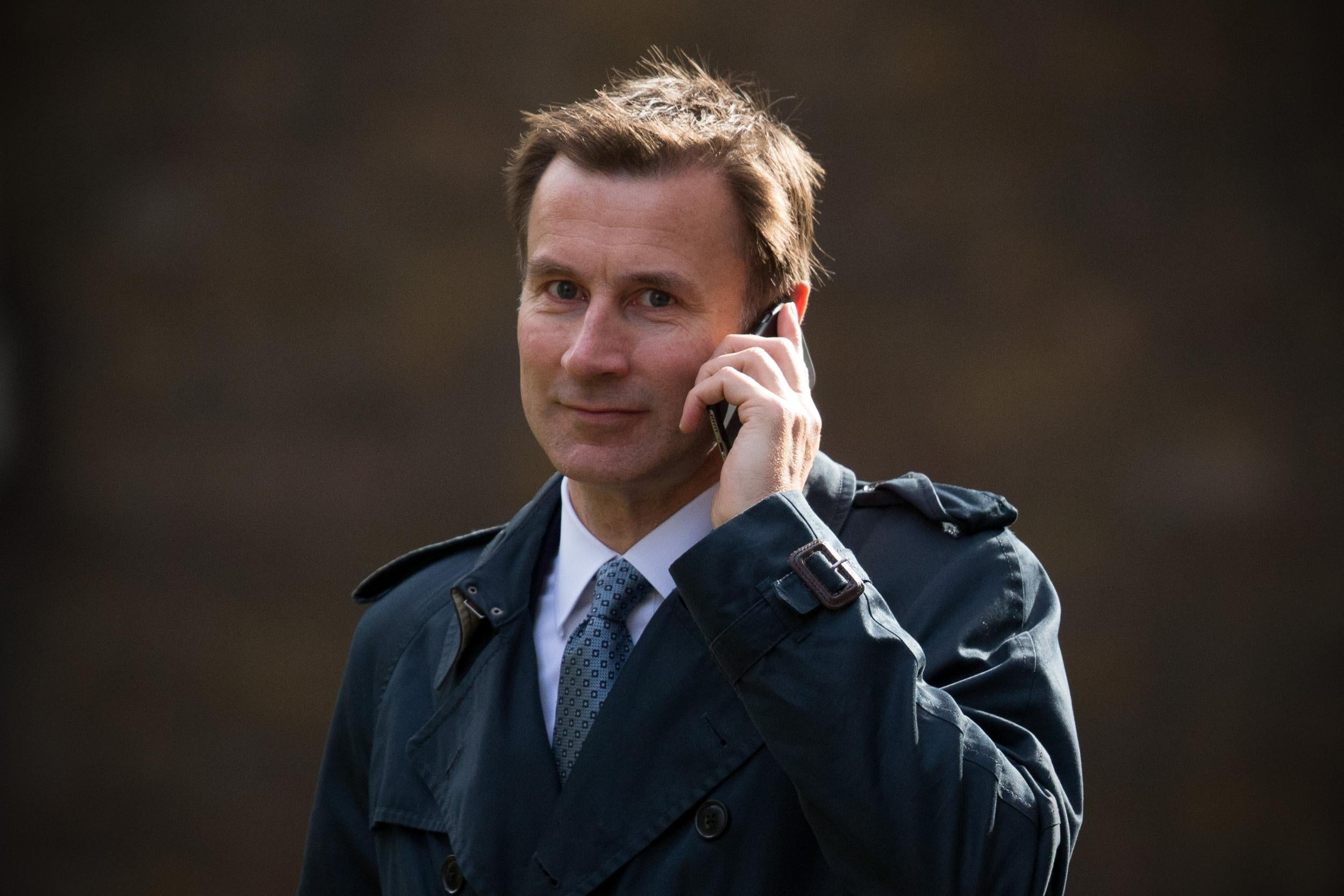 governme jeremy hunt accused - HD2500×1667