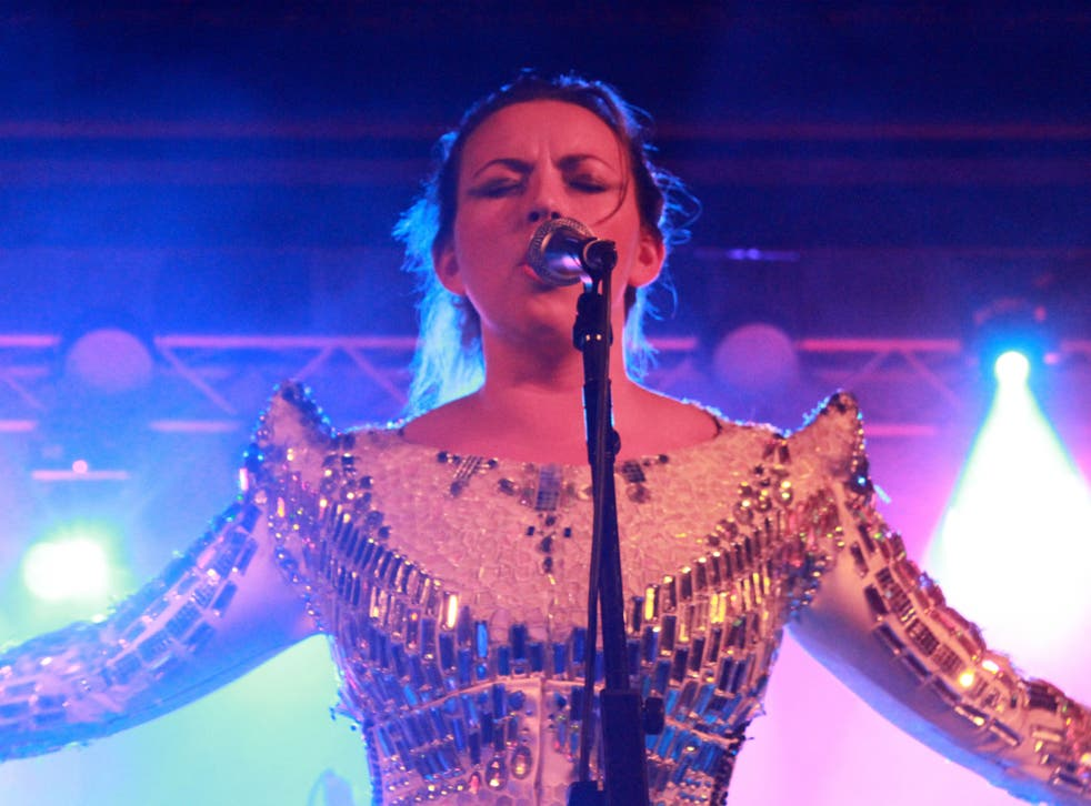 Charlotte Church performs at ATP curated by Stewart Lee