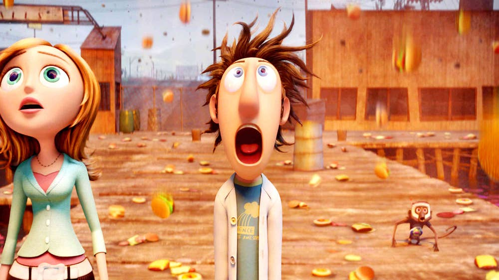 1. Cloudy with a Chance of Meatballs