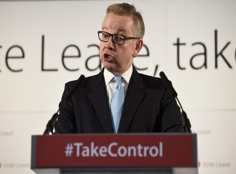 In his speech, Michael Gove said joining countries that traded freely with the EU but were not bound by its rules would 'be the core of our new arrangement with the EU'